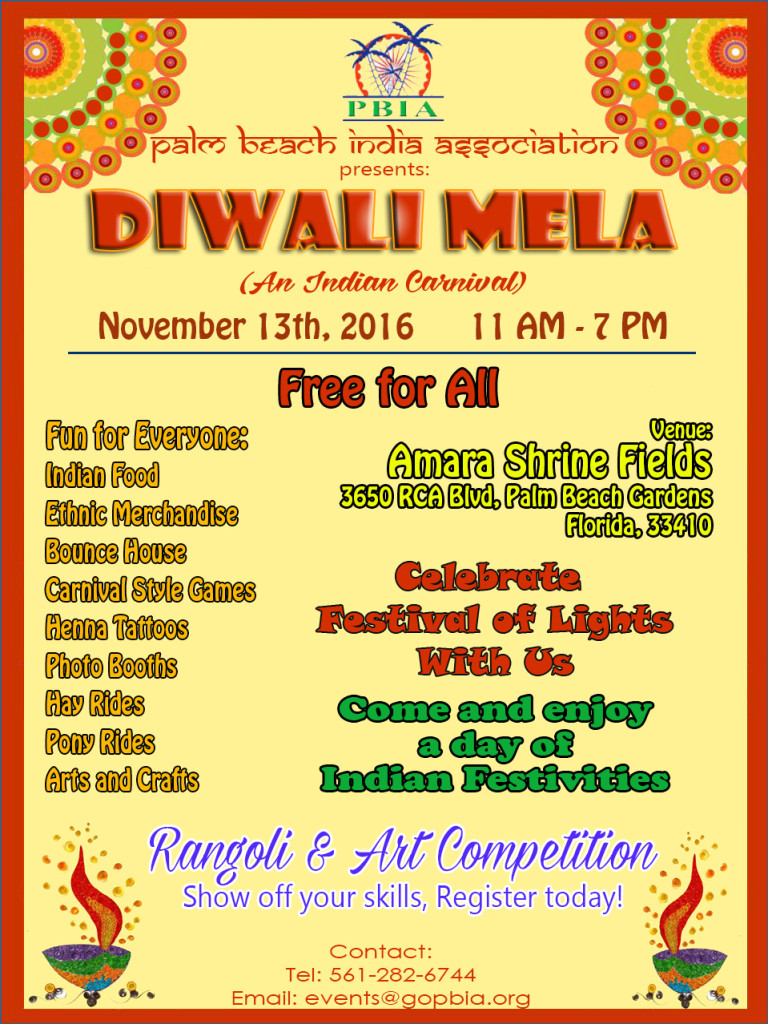 Diwali Mela Poster